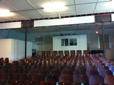 NCRD Auditorium before remodel
